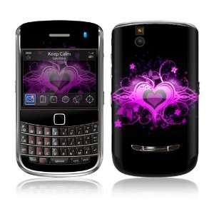 Bold 9650 Skin Decal Sticker   Glowing Love Heart