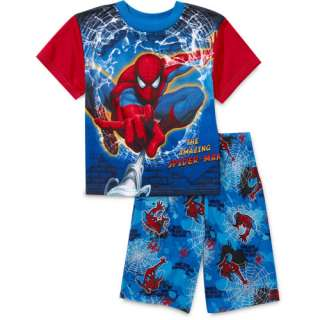 Boys 2 Piece Amazing Spider Man Pajamas Boys