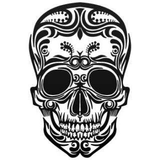 Ancient Decal Sticker Skull tattoo Car Window ZE5X4