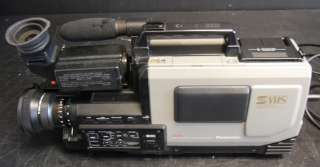 Panasonic AG 450 S VHS Pro Reporter Video Camera No Case for PARTS