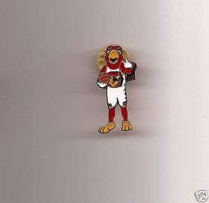 New NBA Atlanta Hawks Harry Hawk Mascot Pin