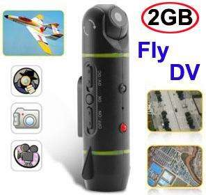 2GB Video Camera Fly DV USB For RC Airplane Helicopter