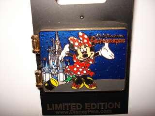 Disney Pin Trading Spotlight Minnie Autograph Book Walt Disney World
