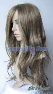 Axis Powers Hetalia Hungary Long Dark Blond Cosplay Wig