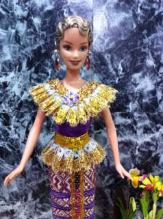 Fashion for Barbie doll Traditional Thai dress outfit
