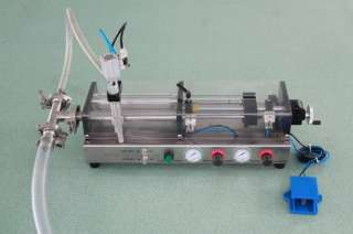 Semi Automatic Pneumatic Liquid Filling Machine