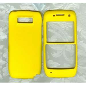 yellow nokia e71 e71x Straight Talk phone cover case: Cell