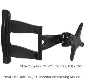 NEW LCD Monitor Flat Panel TV Tilt Swing Arm Wall Mount