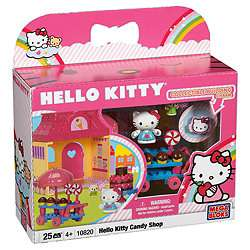 Buy Mega Bloks Hello Kitty Candy Store Playset from our Building