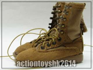 scale Toy Soldier Combat Boots