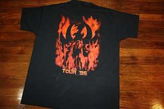 XL * vtg 90s HANK WILLIAMS JR concert tour shirt * 1995 |