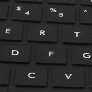 Black keyboard Cover Skin Protector HP G42 Compaq CQ42