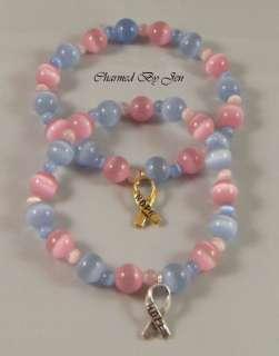 PREGNANCY INFANT LOSS PAIL Awareness Bracelet w/ Charm