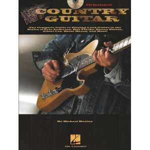 Hal Leonard Red Hot Country Guitar (Book and CD Package