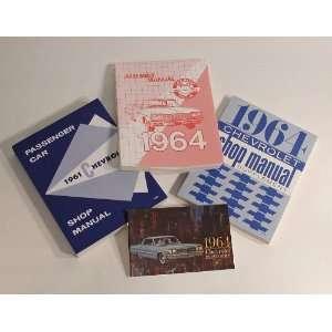 Chevy Manual Literature Set, 1964 Automotive
