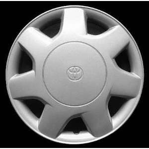 95 96 TOYOTA TERCEL WHEEL COVER HUBCAP HUB CAP 13 INCH, 7 SPOKE BRIGHT