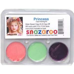 PRINCESS THEME PACK Snazaroo Face Paint Theme Set Toys & Games