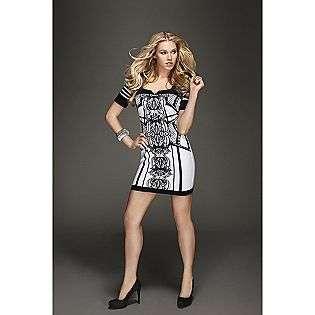 Tattoo Print Dress  Kardashian Kollection Clothing Womens Dresses