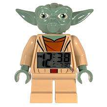 LEGO Star Wars Figure Clock   Yoda   Clic Time Holdings   Toys R