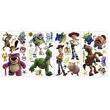 RoomMates Toy Story 3 Peel & Stick Wall Decals   York Wall Coverings