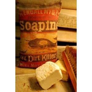 Antique Soapine Laundry Wash Room Soap Bag: Everything Else