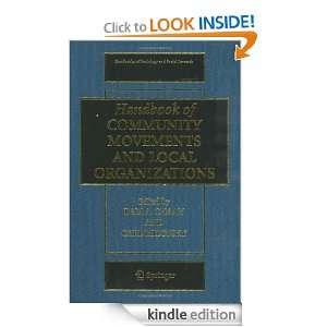 of Community Movements and Local Organizations (Handbooks of Sociology