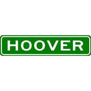 HOOVER City Limit Sign   High Quality Aluminum Sports