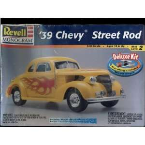 39 Chevy Street Rod Model Kit   124 Scale   Deluxe Kit with Model