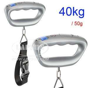 40kg 50g lb Digital Travel Hand Suitcase Luggage Scale