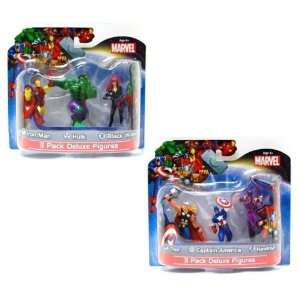 Marvel Avengers Exclusive 4 Action Figure Set of 6