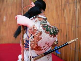 27cm DOLL Japanese JIMMU TENNO 1st Emperor SAMURAI