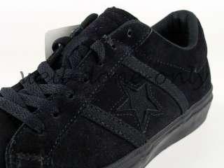 OX vtg black suede leather mens skate shoes sneakers NIB |