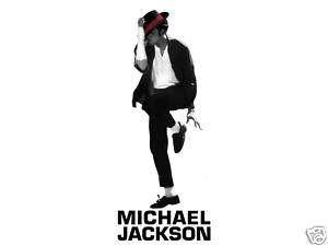 Shirt Iron On Transfer 5X7  Michael Jackson