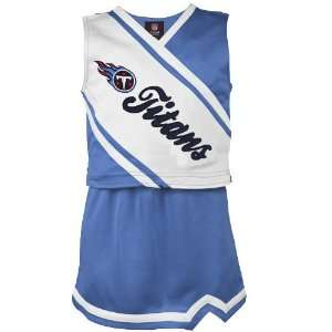Reebok Tennessee Titans Youth Girls Light Blue White 2