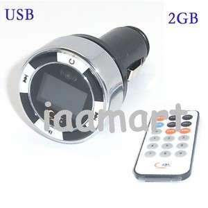 Mini 2GB FM Transmitter Remote Car  PLAYER