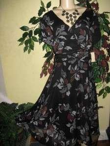 Coldwater creek womens summer party dress L XL1X 2X 3X