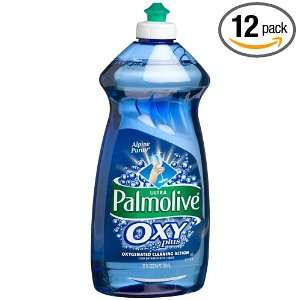 Palmolive Ultra Dish Liquid, Oxy Plus, Alpine Purity, 25 Ounce Bottle