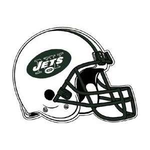 OF 3 NEW YORK JETS FOOTBALL HELMET DIE CUT PENNANT