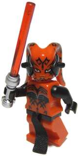 NEW☆ Custom Lego Star Wars Darth Talon Minifig & Bike