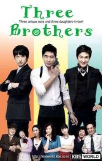 Three Brothers Korean Tv Drama Dvd 4 Boxsets Completed Series Eng Sub