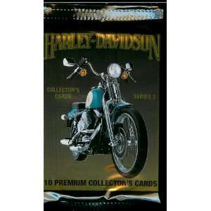 Harley Davidson Series 2 Trading Card Pack   10 cards per pack