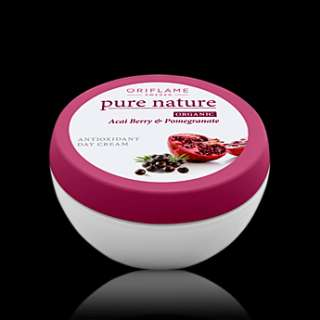 Oriflame Face Cream   ORGANIC Acai and Pomegranade Extract