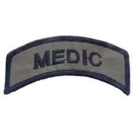 MEDIC SUBDUED UNITED STATES ARMY MILITARY PATCH PM0842