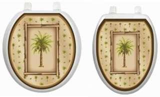 Bahama Breeze Peel & Stick Toilet Tattoo ~ Hygienic