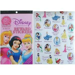 Disney Princess Reward Stickers 1 pc Toys & Games