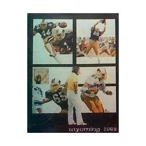 University of Wyoming Cowboys Football 1982 Yearbook The University