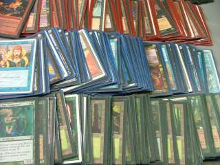 Huge mixed Lot 800+Magic The Gathering cards Mana Short