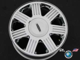 03 05 Lincoln Aviator Factory 17 Chrome Wheels OEM Rims 3510