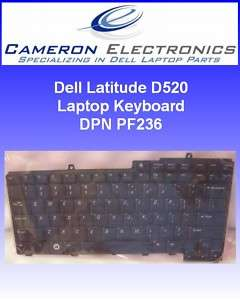 Dell Latitude D520 D530 Laptop Keyboard PF236