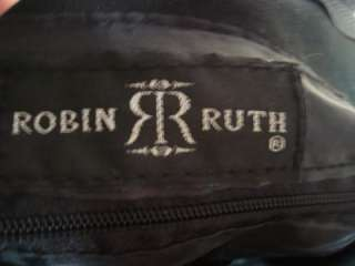 Robin Ruth Black Canvas Brussels Tote Bag